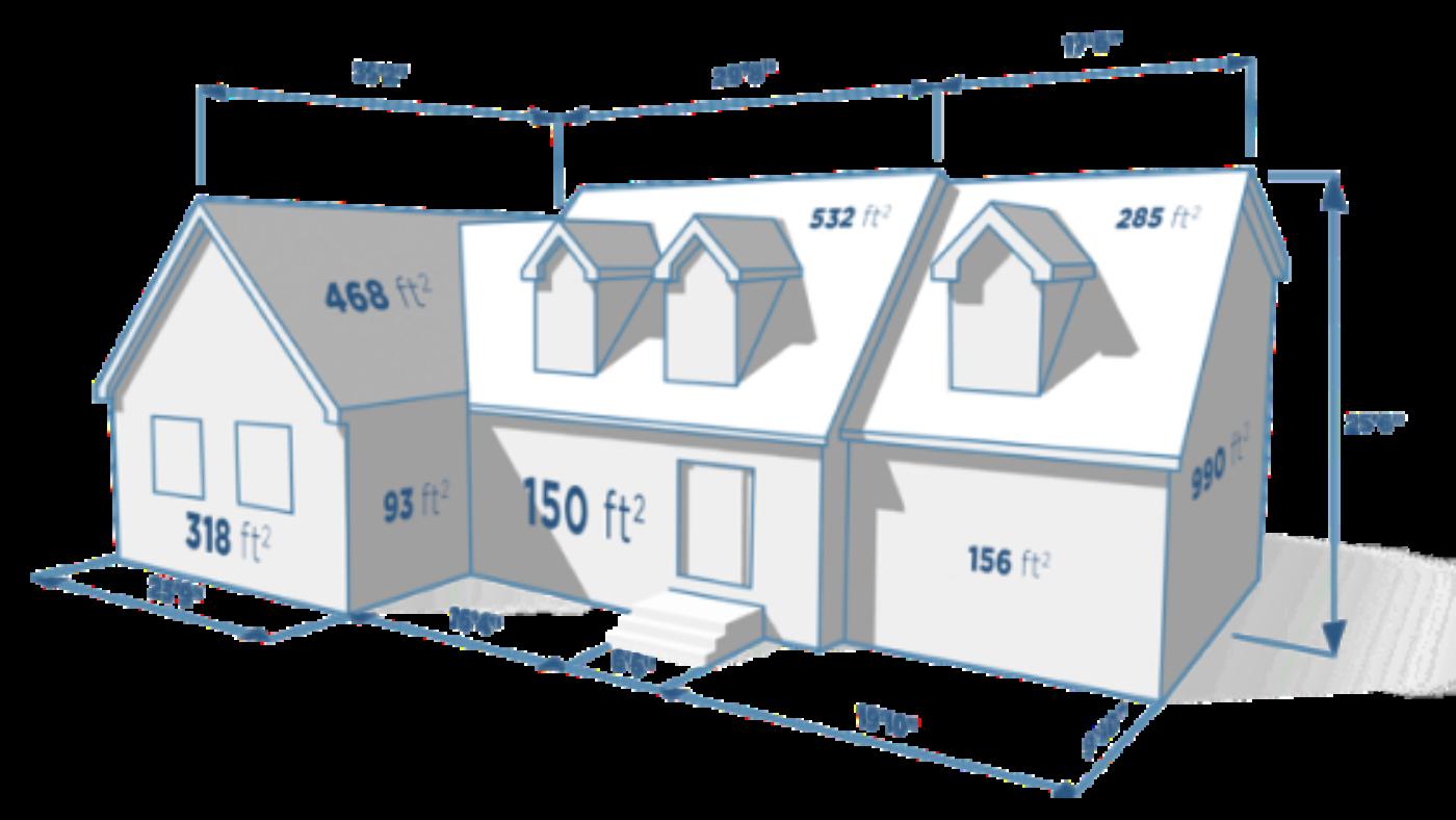 Roof shingle estimator