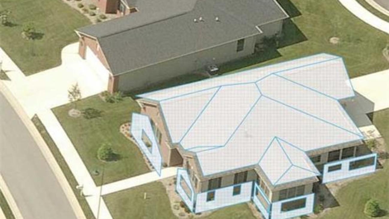 satellite roof estimate